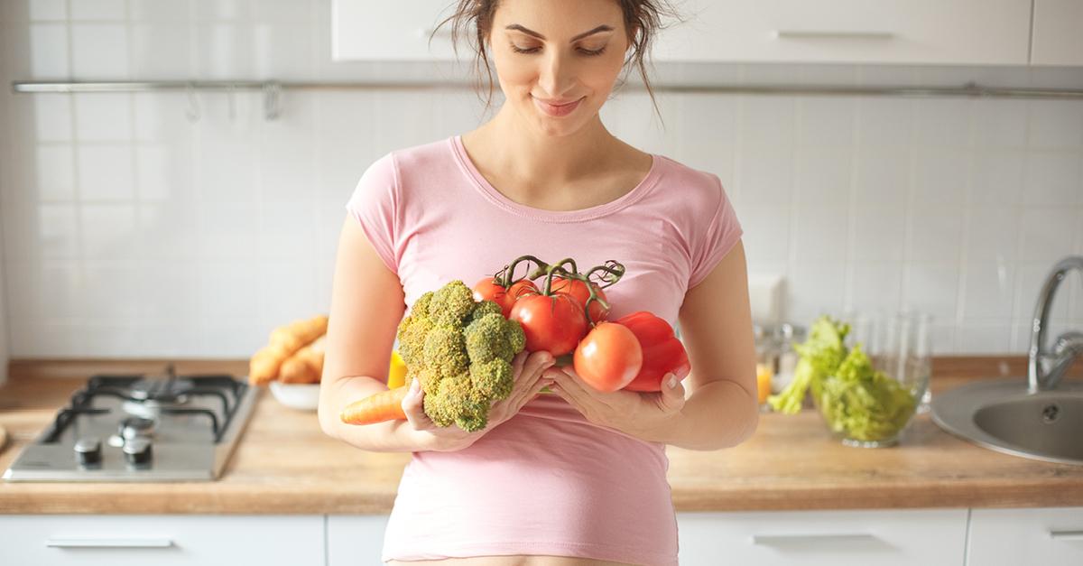 Nutrición adecuada en el embarazo, sin coger kilos