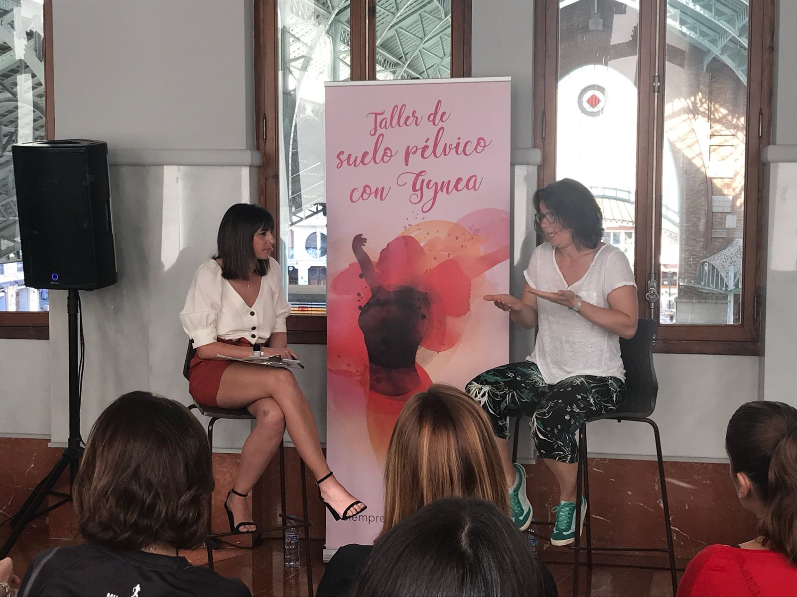 Taller suelo pélvico Gynea con Cristina Mitre y Laia Blanco