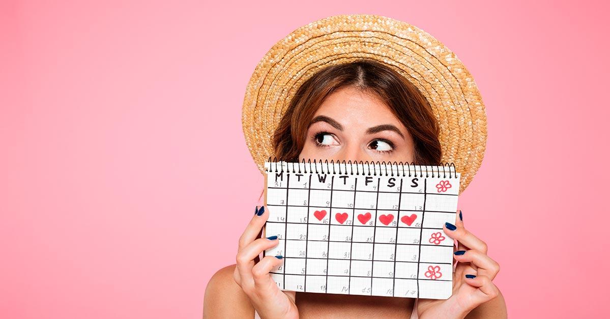 Dias Fertiles Mujer Calendario.Ciclo Menstrual Y Dias Fertiles En La Mujer Gynea