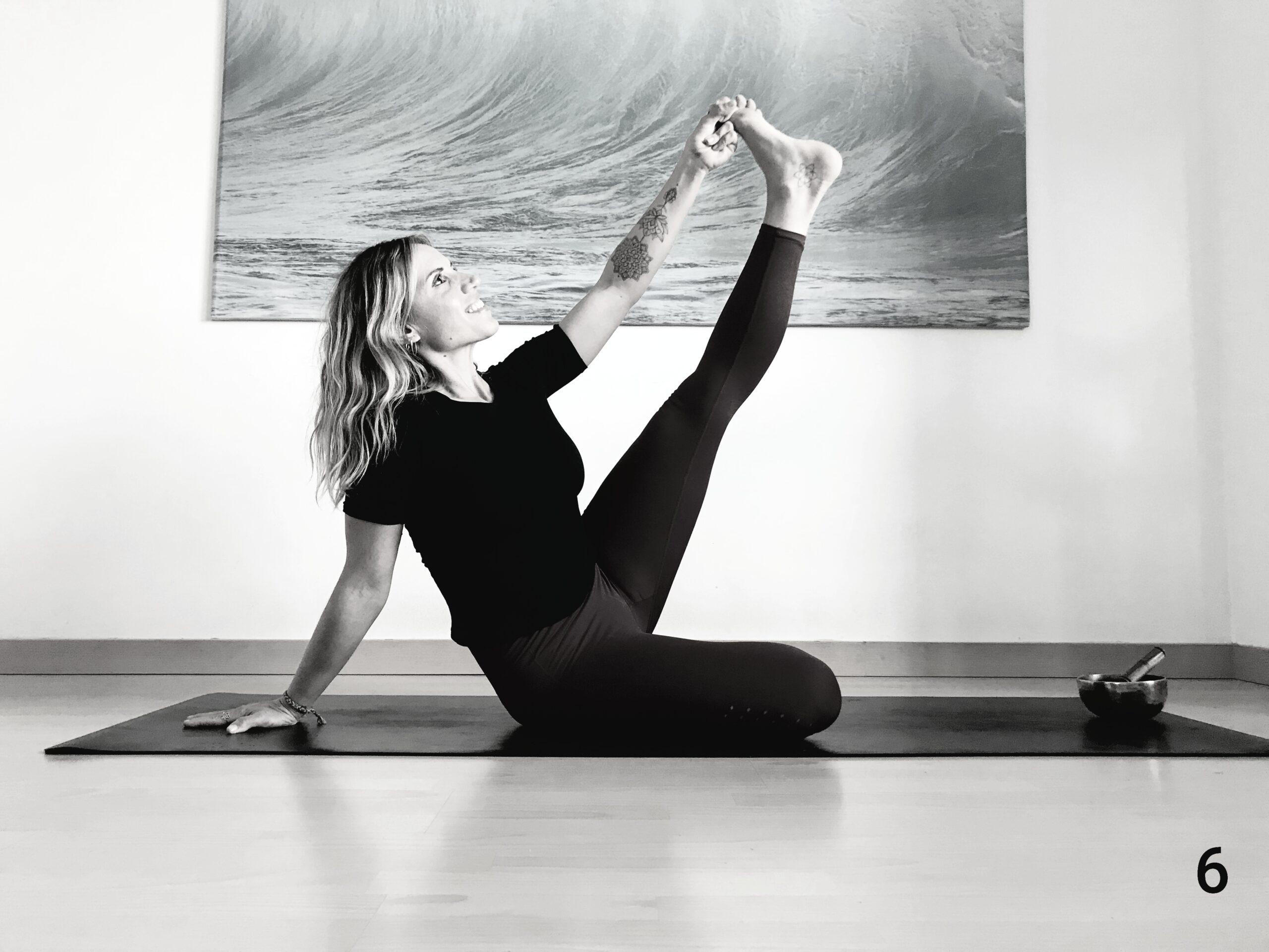 postura yoga premenstrual